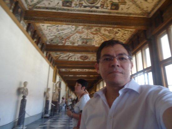 Galería de los Uffizi: Corredor da Uffizi