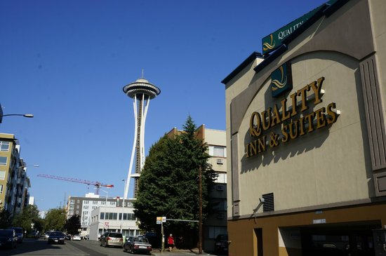 Quality Inn & Suites Seattle : Close to the Space Needle