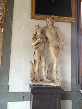Galería de los Uffizi: Adam & Eve