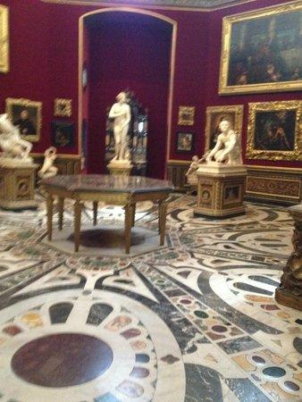 Galería de los Uffizi: Statues
