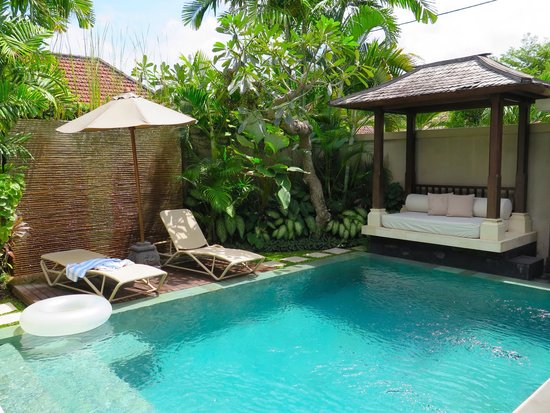 Disini Luxury Spa Villas : pool