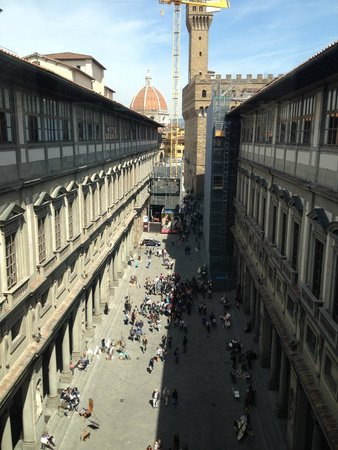 Galería de los Uffizi: Uffizzi Gallery