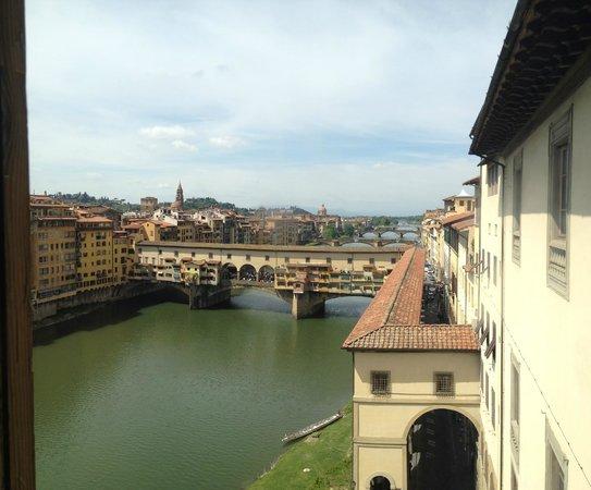 Galería de los Uffizi: Arno River from Uffizzi