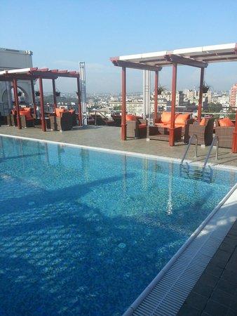 Hotel Saratoga: rooftop pool