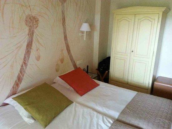 Best Western Castel Provence : la chambre
