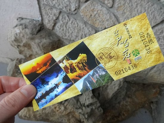 Reed Flute Cave (Ludi Yan): Ticket