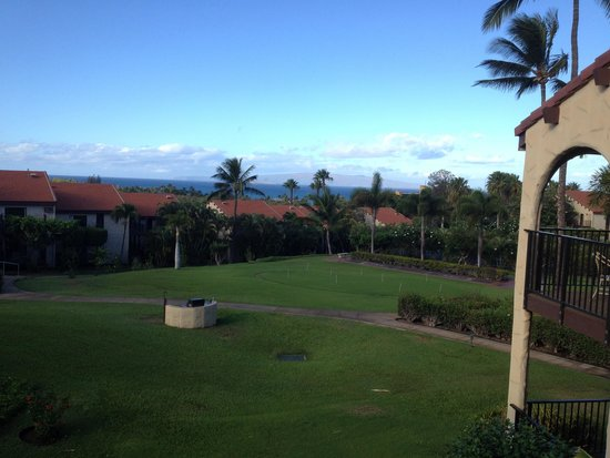 Aston Maui Hill: View from #26 of BBQ