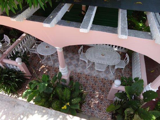 Casa Pedro y Mayi: Vue de la terrasse privative