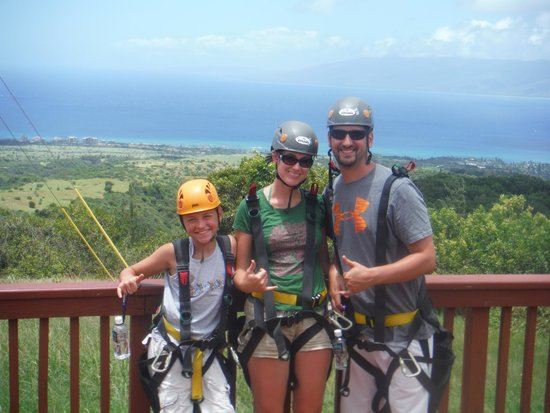 Kapalua Ziplines: A day above the trees!