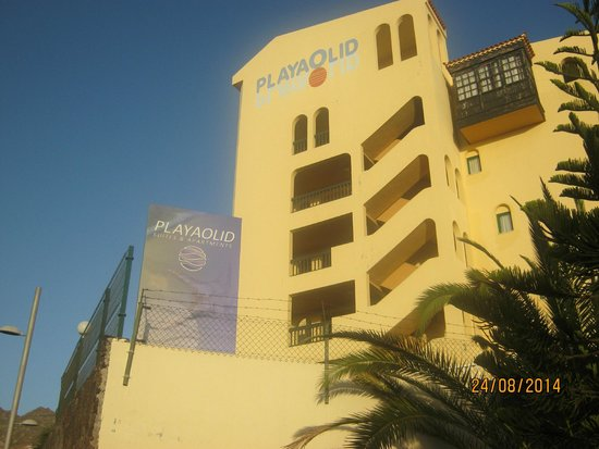 Playa Olid Apartments: outside