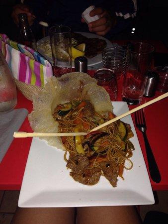 La Maison des Saisons : Bœuf thaï