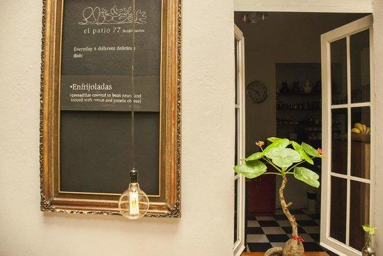 El Patio 77, First Eco Friendly Bu0026B In Mexico City: Breakfast Courtyard El