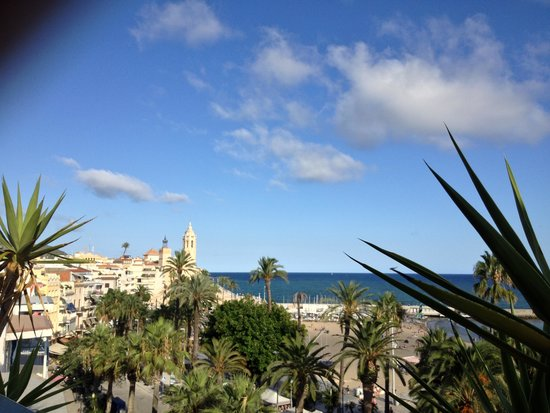 Hotel Platjador: View from the terrace 2