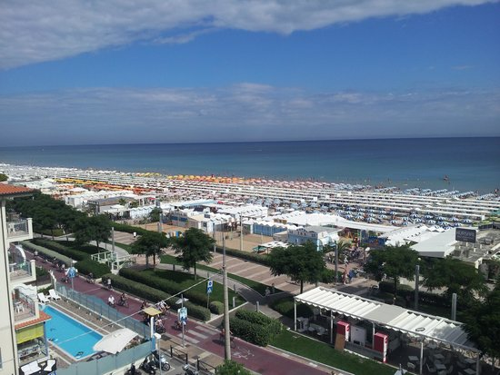 Ambasciatori Hotel: Vista dalla camera 502