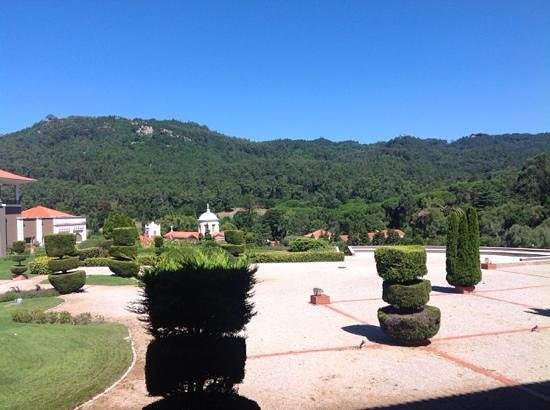 Penha Longa Resort: View outwards from 2nd floor