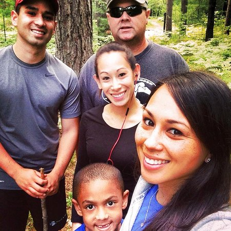 Hartwick Pines State Park: My family on a 3 mile hike!