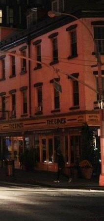 The Diner: fachada do restaurante