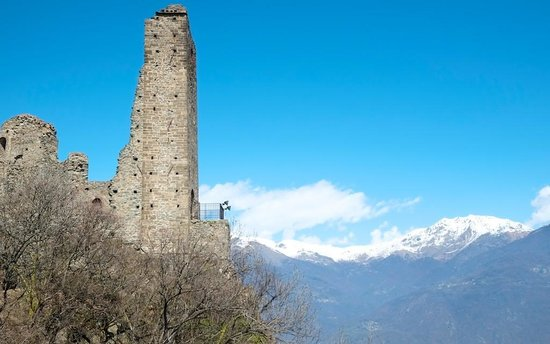Tower of Bell\'Alda - Picture of Sacra di San Michele, Sant\'Ambrogio ...