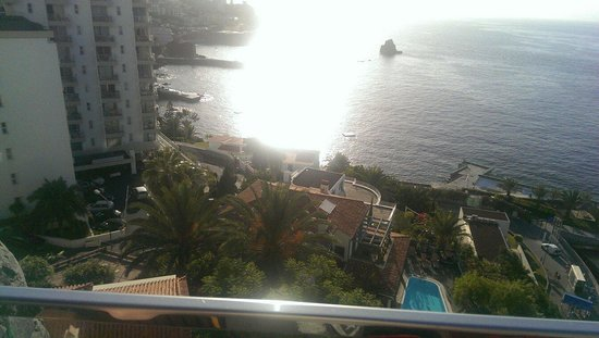 Madeira Regency Cliff: View from breakfast area! X