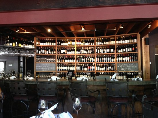 Purple Cafe and Wine Bar: The wine selections are outstanding