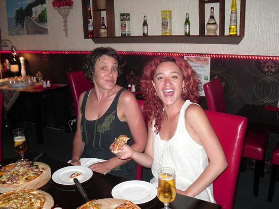 Di Luca's: Keisha and Friend