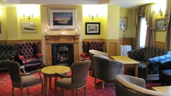 Ostan Loch Altan: The hotel Foyer