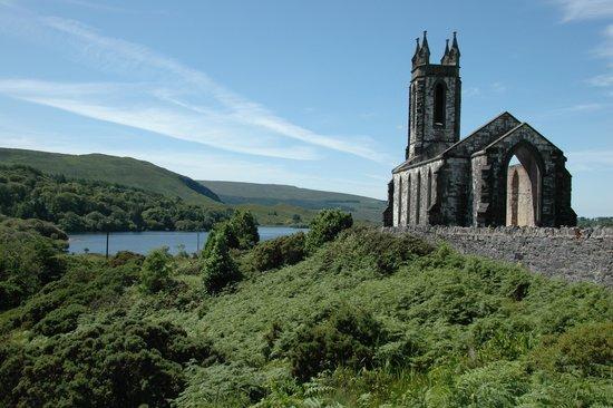 Ostan Loch Altan: The Old Church in Dunlewey