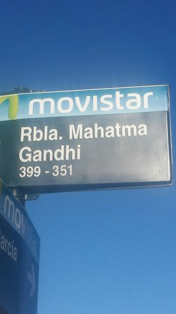 Rambla von Montevideo: Homenagem.