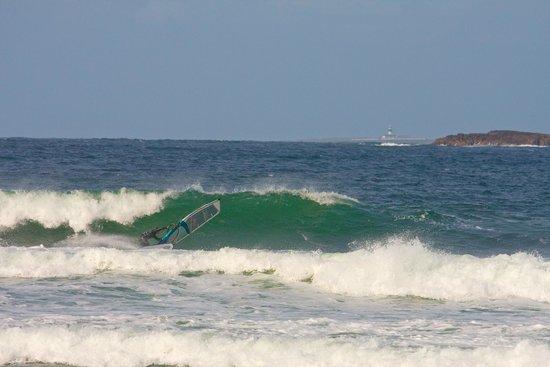Ostan Loch Altan: Wind Surfing at Magheroarty