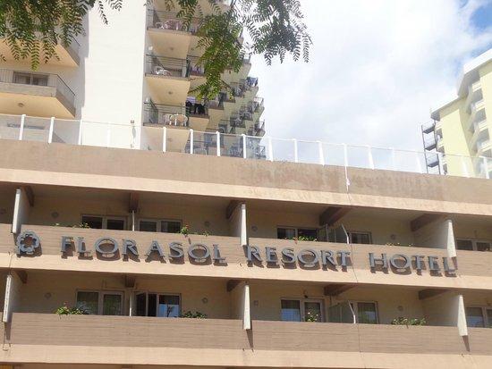 Dorisol Florasol: entrada do hotel