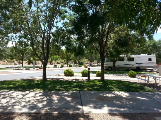Zion River Resort: RV sites