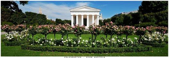 Historisches Zentrum von Wien: Volksgarten - Wien Austria