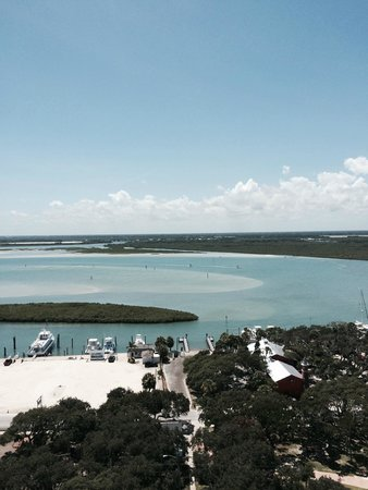 Ponce de Leon Inlet Lighthouse & Museum: View from the top of the Lighthouse