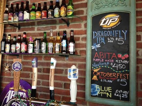 Yats Valparaiso: We love beer; some say a little too much.