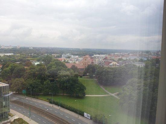 Novotel Poznan Centrum: vista desde la hab