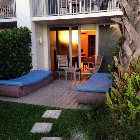 Costa d'Este Beach Resort & Spa : Cabana Ground Lvl