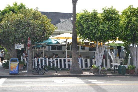 The Cottage La Jolla : Visto de fora