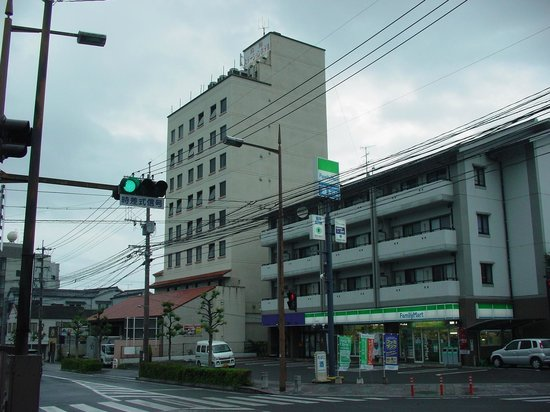 Shimabara Station Hotel: 外観(北西側より)