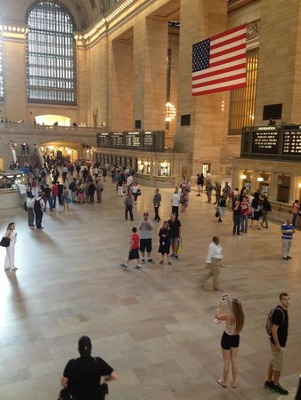 Grand Central Terminal: Just like the movies