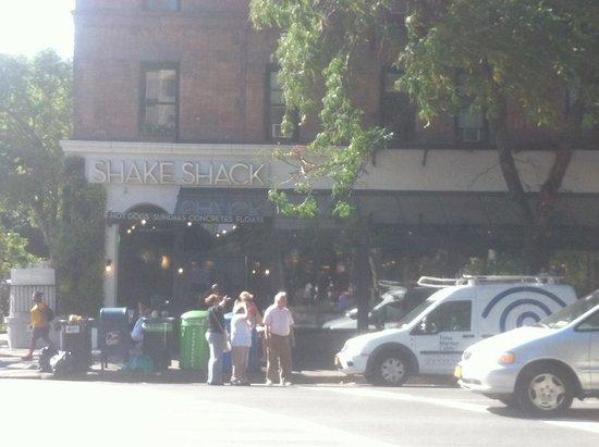 Shake Shack: Ingresso