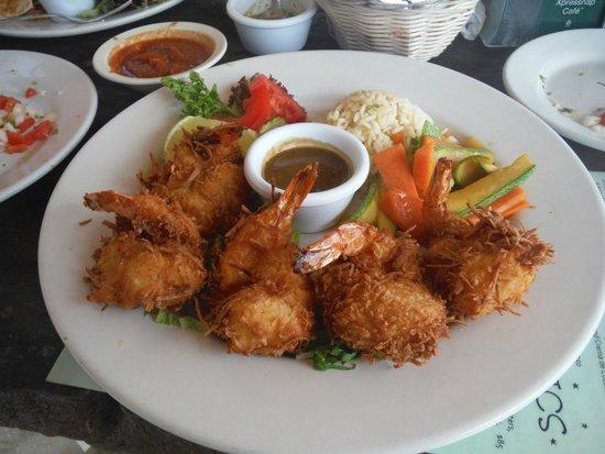 La Buena Vida Restaurant: Coconut Shrimp