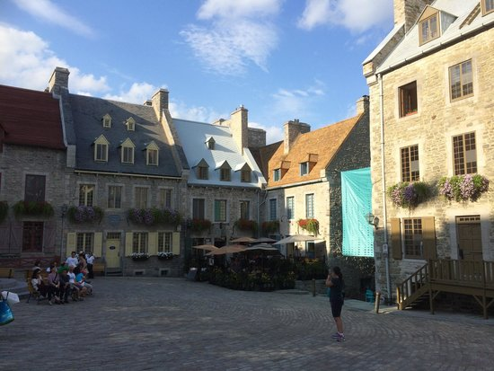 Old Quebec: near the old town church