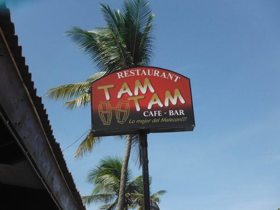 Tam Tam Restaurant  Puerto Plata: Greatest spot on Ocean Boulevard