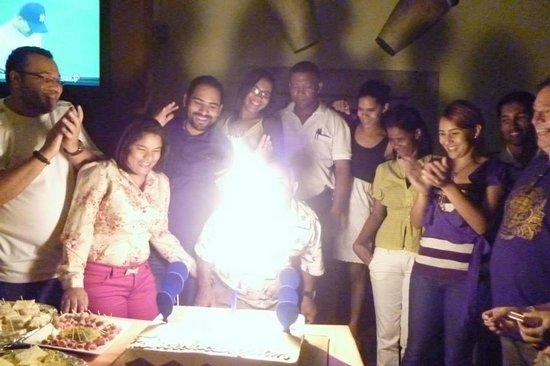 Tam Tam Restaurant  Puerto Plata: Great parties!!