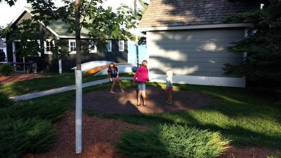 Bluefin Bay on Lake Superior: Tetherball
