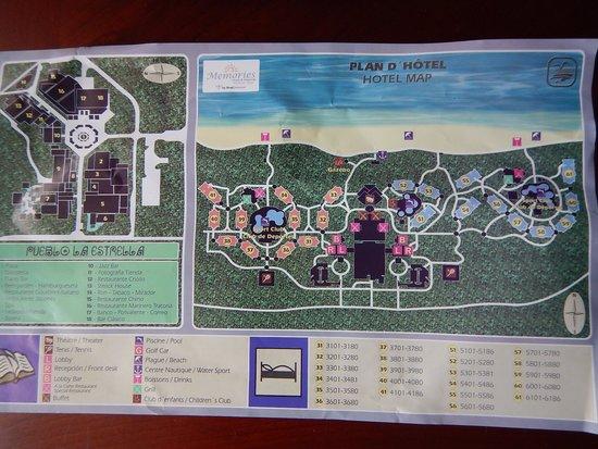 Memories Paraiso Beach Resort Paraiso_azul Map