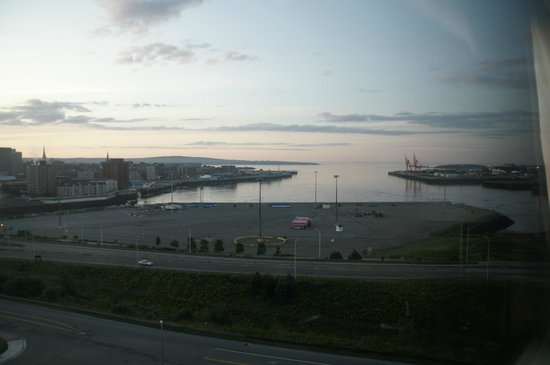 Canadas Best Value Inn - Saint John: From room 804 ... view of St Johns bay