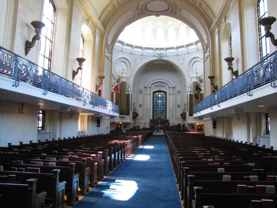 U.S. Naval Academy : The Chapel is worth a visit - beautiful and rich in tradition