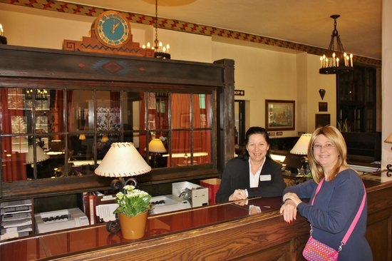 The Majestic Yosemite Hotel: Angels at check in