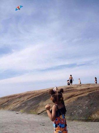 Kiting at wingaersheek beach